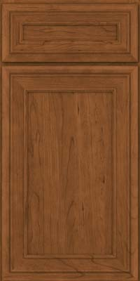 Square Recessed Panel - Veneer (NBC) Cherry in Rye - Base