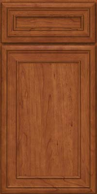 Square Recessed Panel - Veneer (NBC) Cherry in Sunset - Base