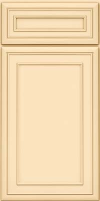 Square Recessed Panel - Veneer (NBM) Maple in Biscotti - Base