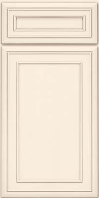 Square Recessed Panel - Veneer (NBM) Maple in Canvas - Base