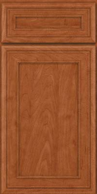Square Recessed Panel - Veneer (NBM) Maple in Cinnamon - Base