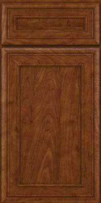 Square Recessed Panel - Veneer (NBM) Maple in Cognac - Base