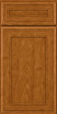 Square Recessed Panel - Veneer (NBM) Maple in Golden Lager - Base