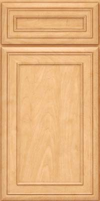 Square Recessed Panel - Veneer (NBM) Maple in Honey Spice - Base