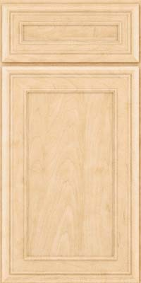 Square Recessed Panel - Veneer (NBM) Maple in Natural - Base