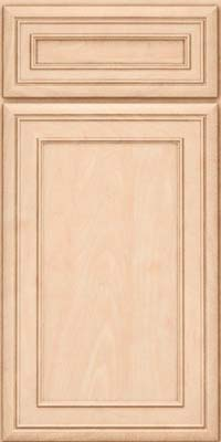 Square Recessed Panel - Veneer (NBM) Maple in Parchment - Base