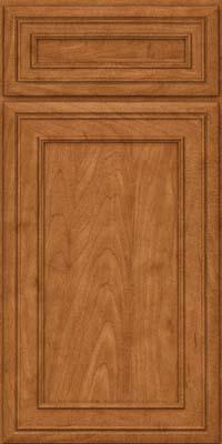 Square Recessed Panel - Veneer (NBM) Maple in Praline - Base