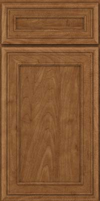 Square Recessed Panel - Veneer (NBM) Maple in Rye - Base