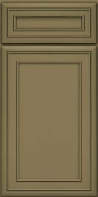 Square Recessed Panel - Veneer (NBM) Maple in Sage - Base