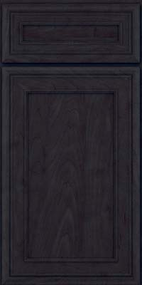 Square Recessed Panel - Veneer (NBM) Maple in Slate - Base