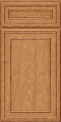 Square Recessed Panel - Veneer (NBM) Maple in Toffee - Base