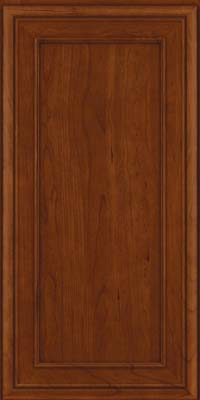 Square Recessed Panel - Veneer (NBC) Cherry in Autumn Blush - Wall
