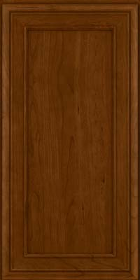 Square Recessed Panel - Veneer (NBC) Cherry in Chocolate - Wall