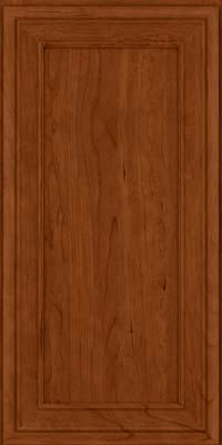 Square Recessed Panel - Veneer (NBC) Cherry in Cinnamon - Wall