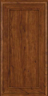 Square Recessed Panel - Veneer (NBC) Cherry in Cognac - Wall