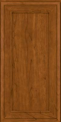 Square Recessed Panel - Veneer (NBC) Cherry in Golden Lager - Wall