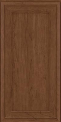 Square Recessed Panel - Veneer (NBC1) Cherry in Hazel - Wall