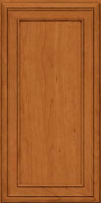 Square Recessed Panel - Veneer (NBC) Cherry in Honey Spice - Wall