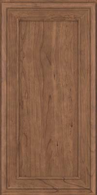 Square Recessed Panel - Veneer (NBC) Cherry in Husk - Wall
