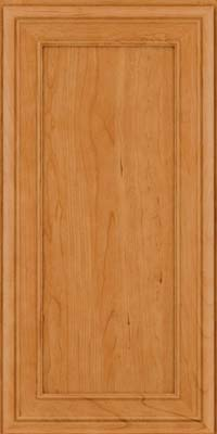 Square Recessed Panel - Veneer (NBC) Cherry in Natural - Wall