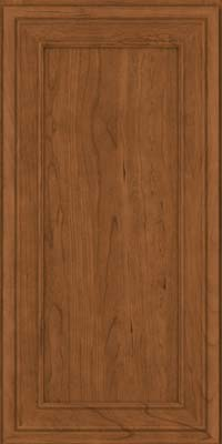 Square Recessed Panel - Veneer (NBC) Cherry in Rye - Wall