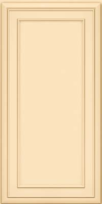 Square Recessed Panel - Veneer (NBM) Maple in Biscotti - Wall