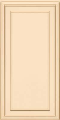 Square Recessed Panel - Veneer (NBM) Maple in Biscotti w/Cocoa Glaze - Wall