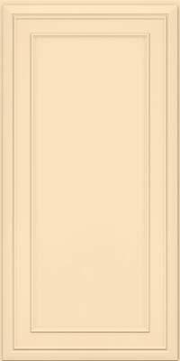 Square Recessed Panel - Veneer (NBM) Maple in Biscotti w/Coconut Glaze - Wall