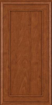 Square Recessed Panel - Veneer (NBM) Maple in Chestnut - Wall