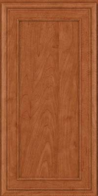 Square Recessed Panel - Veneer (NBM) Maple in Cinnamon - Wall