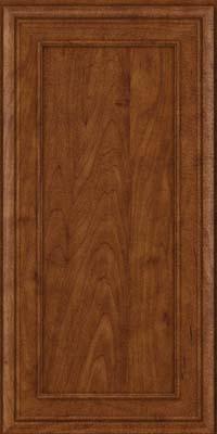 Square Recessed Panel - Veneer (NBM) Maple in Cognac - Wall