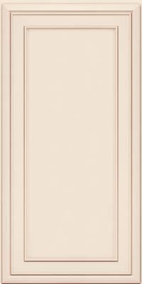 Newburgh (NBM4) Maple in Dove White w/Cocoa Glaze - Wall