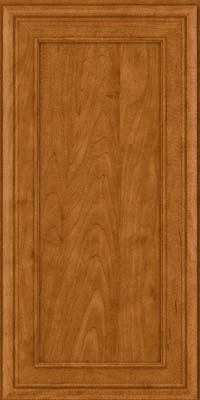 Square Recessed Panel - Veneer (NBM) Maple in Golden Lager - Wall