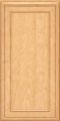 Square Recessed Panel - Veneer (NBM) Maple in Honey Spice - Wall