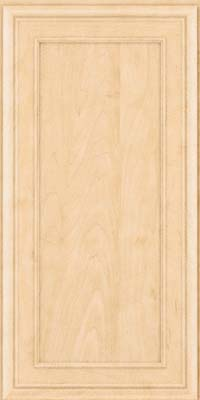 Square Recessed Panel - Veneer (NBM) Maple in Natural - Wall