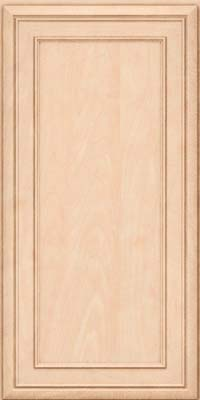 Square Recessed Panel - Veneer (NBM) Maple in Parchment - Wall