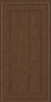 Square Recessed Panel - Veneer (NBM) Maple in Saddle Suede - Wall