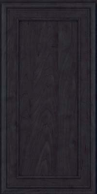 Square Recessed Panel - Veneer (NBM) Maple in Slate - Wall