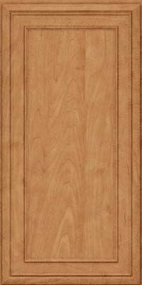 Square Recessed Panel - Veneer (NBM) Maple in Toffee - Wall
