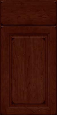 Arch Raised Panel - Solid (NFC) Cherry in Burnished Cabernet - Base