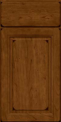 Arch Raised Panel - Solid (NFC) Cherry in Burnished Ginger - Base