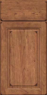 Arch Raised Panel - Solid (NFC) Cherry in Burnished Rye - Base