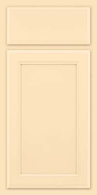 Square Recessed Panel - Veneer (NG) Maple in Biscotti w/Coconut Glaze - Base