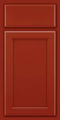 Square Recessed Panel - Veneer (NG) Maple in Cardinal - Base