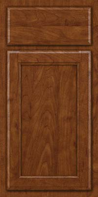 Square Recessed Panel - Veneer (NG) Maple in Cognac - Base