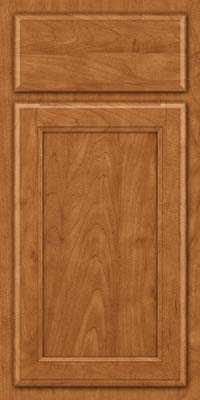Square Recessed Panel - Veneer (NG) Maple in Praline - Base