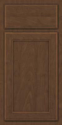 Square Recessed Panel - Veneer (NG) Maple in Saddle Suede - Base