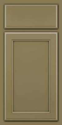Square Recessed Panel - Veneer (NG) Maple in Sage - Base