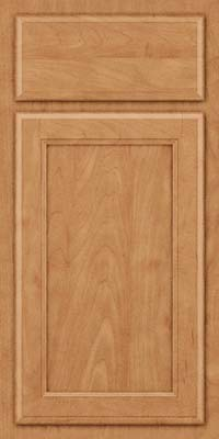 Square Recessed Panel - Veneer (NG) Maple in Toffee - Base