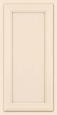 Square Recessed Panel - Veneer (NG) Maple in Canvas w/Cocoa Glaze - Wall